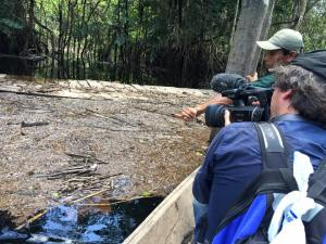 Shooting an oil spill in the Amazon